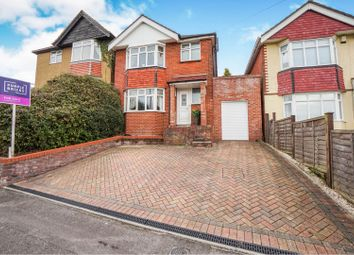 Thumbnail 3 bed detached house for sale in Cross Road, Southampton