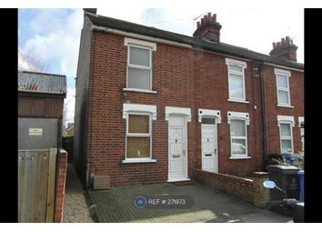 Thumbnail 3 bedroom end terrace house to rent in Camden Road, Ipswich