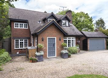 Thumbnail 4 bed detached house for sale in Eversley Road, Yateley, Hampshire