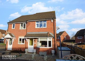 Thumbnail 3 bed semi-detached house for sale in Hillary Close, Daventry, Northamptonshire