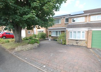 Thumbnail 3 bed semi-detached house for sale in Wylam Close, Glenfield, Leicester
