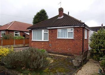 Thumbnail 2 bed bungalow for sale in Greenhythe Road, Heald Green, Cheadle