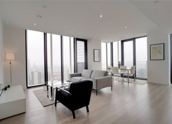 Thumbnail 3 bed flat to rent in Stratosphere, Station Street, London