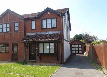 Thumbnail 3 bedroom semi-detached house for sale in Parc Y Delyn, Llangyfelach, Swansea