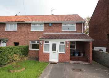 Thumbnail 3 bed end terrace house for sale in Kirkwood Drive, Kenton, Newcastle Upon Tyne