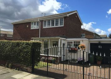 Thumbnail 3 bed semi-detached house for sale in Breamish Street, Jarrow