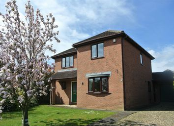 Thumbnail 3 bed detached house for sale in Lavender Way, Bourne, Lincolnshire