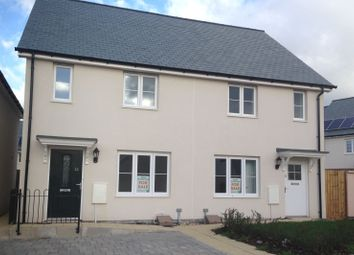 Thumbnail 2 bedroom semi-detached house for sale in Water'S Edge, Fremington, North Devon