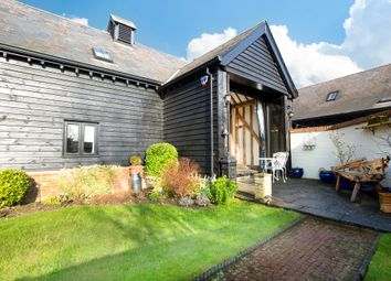 Thumbnail 4 bed barn conversion for sale in Westbury Farm Close, Offley, Hitchin
