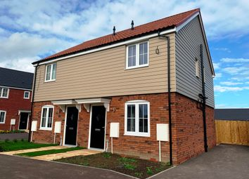 Thumbnail 2 bed semi-detached house to rent in Canterbury Mews, Donington, Spalding