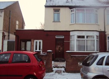 Thumbnail 1 bed flat to rent in 55 Sherwood Road, Luton