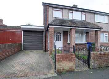 Thumbnail 3 bed semi-detached house for sale in Grantham Street, Blyth