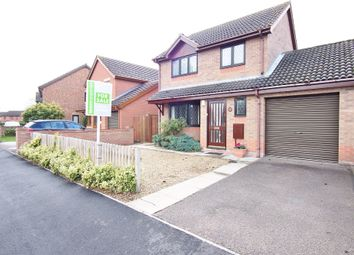 Thumbnail 3 bed link-detached house for sale in Barnham Broom Road, Wymondham