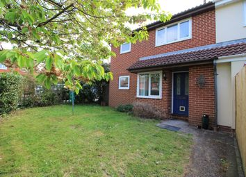 Thumbnail 1 bed end terrace house to rent in Wild Rose Crescent, Locks Heath, Southampton