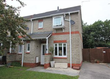 Thumbnail 3 bed semi-detached house for sale in Llys Dwynwen, Llantwit Major