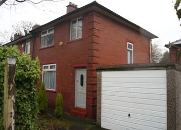 Thumbnail 3 bed semi-detached house for sale in Oxford Avenue, Whitefield, Manchester