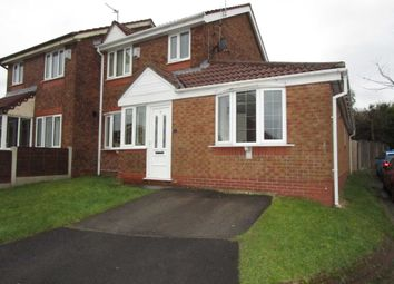 Thumbnail 4 bed semi-detached house for sale in Brierwood Close, Royton, Oldham
