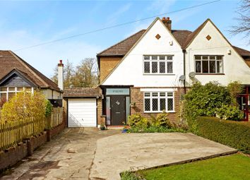 Thumbnail 3 bed semi-detached house for sale in Willey Broom Lane, Chaldon, Caterham, Surrey