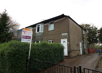 Thumbnail 2 bed flat for sale in Chirnside Road, Hillington