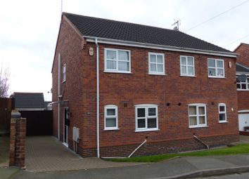 Thumbnail 3 bed semi-detached house for sale in Lansdowne Road, Swadlincote