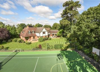 Thumbnail 4 bedroom detached house for sale in Burghfield Bridge, Burghfield, Reading