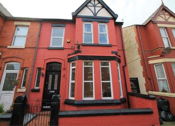 Thumbnail 4 bedroom end terrace house for sale in Rockland Road, Waterloo, Merseyside