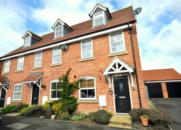 Thumbnail 3 bed end terrace house to rent in Long Breech, Mawsley Village, Kettering, Northamptonshire