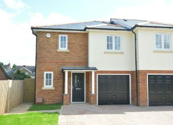 Thumbnail 3 bed semi-detached house for sale in Bakersfield Close, Chessington Road, Ewell, Epsom