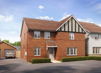 "Thumbnail 4 bedroom detached house for sale in ""Radleigh"" at Marsh Lane, Harlow"