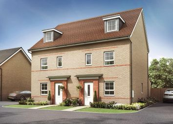 """Thumbnail 4 bed semi-detached house for sale in """"Woodcroft"""" at St. Martins Road, Eastbourne"""