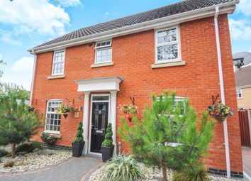Thumbnail 4 bed detached house for sale in Woodruff Road, Thetford