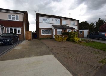 Thumbnail 3 bed semi-detached house for sale in Lower Crescent, Linford, Essex
