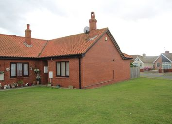 Thumbnail 2 bed semi-detached bungalow for sale in Seathorne, Withernsea, East Riding Of Yorkshire