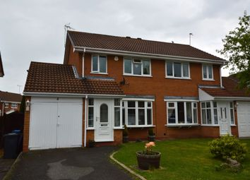 Thumbnail 3 bed semi-detached house for sale in Bowen-Cooke Avenue, Perton, Wolverhampton