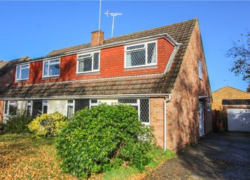 Thumbnail 3 bed semi-detached house for sale in Michaelmas Close, Yateley, Hampshire