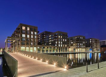 Thumbnail 3 bedroom flat for sale in Shakleton Way, Royal Albert Wharf, London