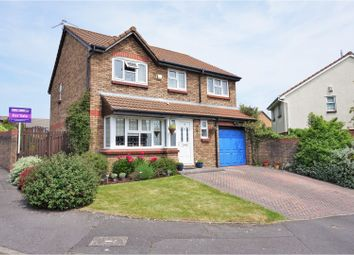 Thumbnail 4 bed detached house for sale in Enfield Drive, Barry