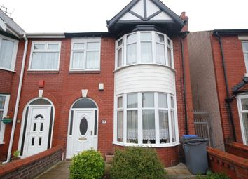 Thumbnail 3 bedroom end terrace house for sale in Rectory Road, Blackpool