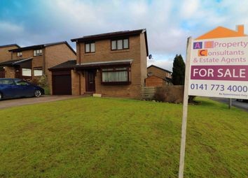 Thumbnail 3 bed detached house for sale in Burntbroom Gardens, Baillieston