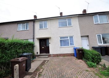 Thumbnail 3 bed terraced house to rent in Hexham Walk, Oakwood, Derby