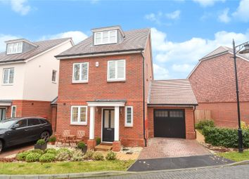 Thumbnail 4 bed detached house for sale in Adam Brown Avenue, Yateley, Hampshire