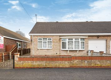 Thumbnail 2 bed semi-detached bungalow for sale in Bessacarr Avenue, Willerby, Hull