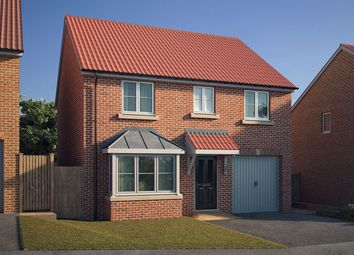 "Thumbnail 4 bed detached house for sale in ""The Barlow"" at Spellowgate, Driffield"