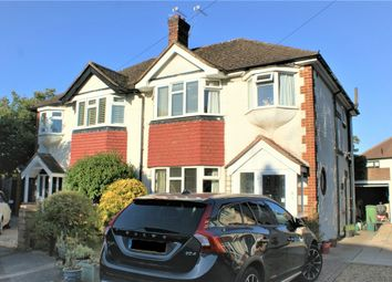 Thumbnail 3 bed semi-detached house for sale in Avondale Close, Hersham, Walton-On-Thames, Surrey