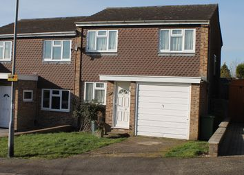 Thumbnail 3 bed semi-detached house to rent in Fleming Close, Cheshunt