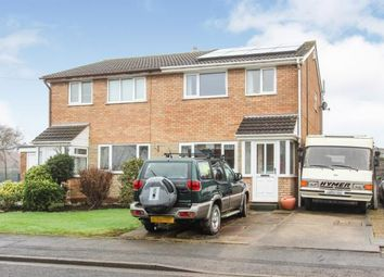 Thumbnail 3 bed semi-detached house for sale in Elder Close, Warton, Preston
