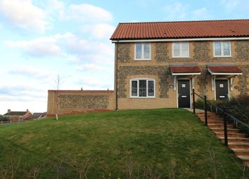 Thumbnail 3 bed semi-detached house for sale in The Street, Croxton, Thetford