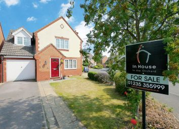 Thumbnail 4 bedroom detached house for sale in Evenlode Drive, Didcot