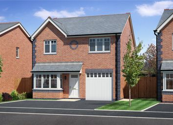 Thumbnail 4 bed detached house for sale in Plot 4, Badgers Fields, Arddleen, Llanymynech, Powys