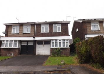 Thumbnail 3 bed semi-detached house to rent in Primley Close, Walsall